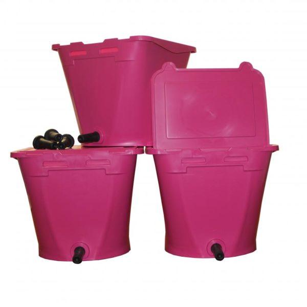 3 Roze ECF 1 Drinkbakken Wennemars